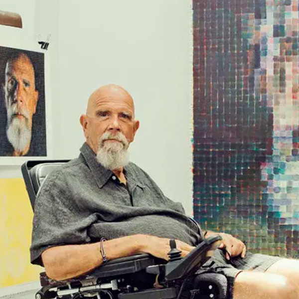 Image of the artist - Chuck Close