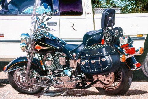 Black Harley, Late Afternoon