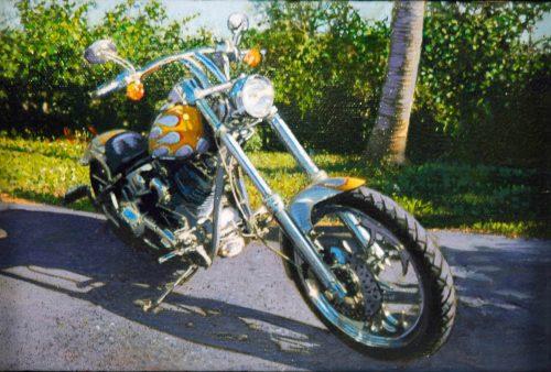 Naples Custom Chopper