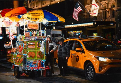 Night Vendor (7th Ave West of Carnegie Hall)