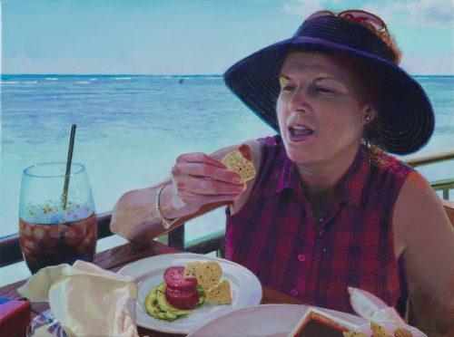 Kim Eating Chips