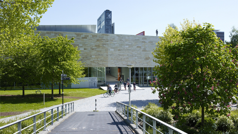 Kunsthal Rotterdam museum entrance