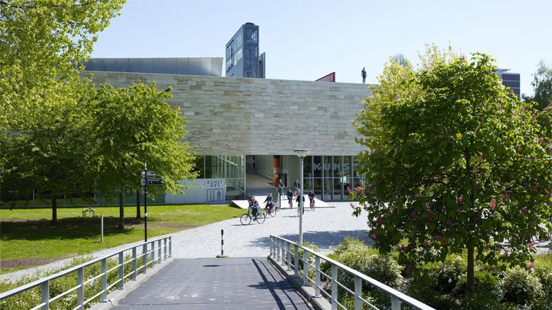 Kunsthal Rotterdam museum entrance