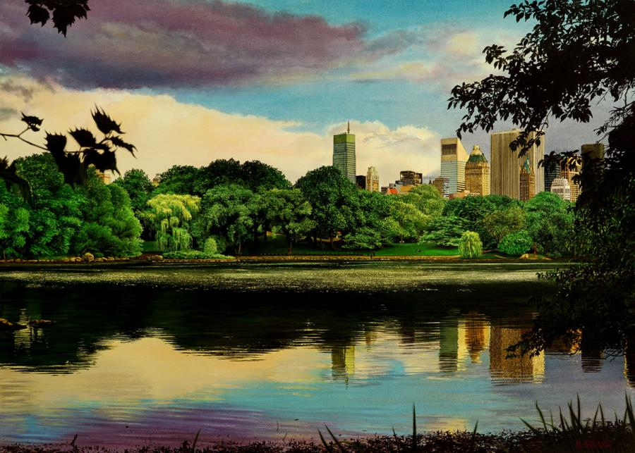 Central Park in the Evening - Raphaella Spence