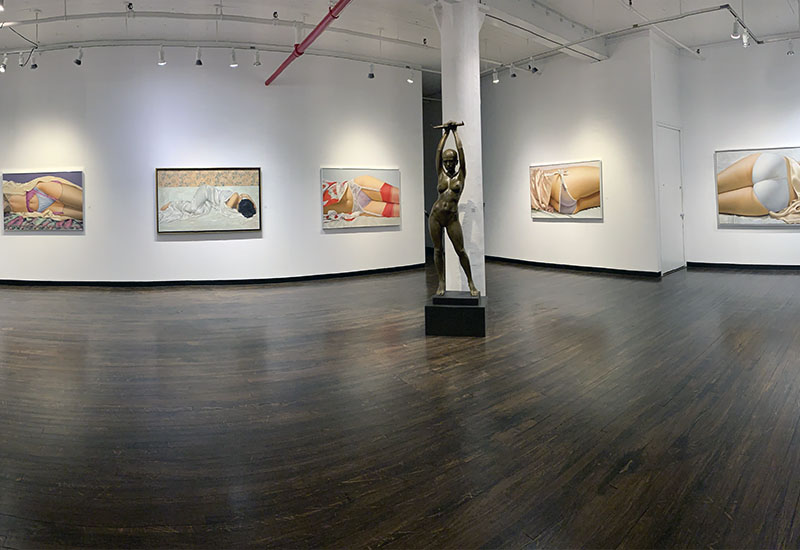 John Kacere installation view 2