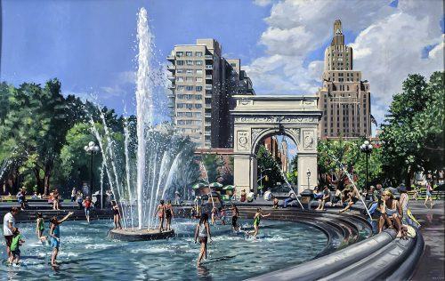 Study for Washington Square Park