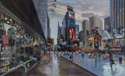 Study for Times Square