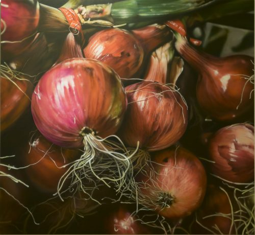 Market Red Onions