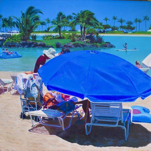 Blue Umbrella #3