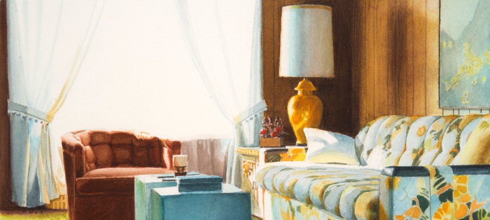 Interior with Floral - Jack Mendenhall