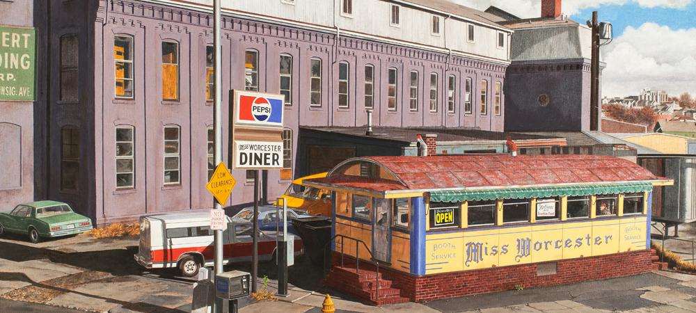 Miss Worcester Diner - John Baeder