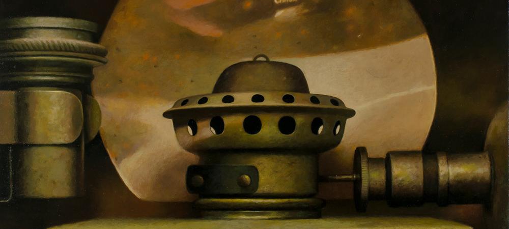 Calcium Carbide Lamp - Gus Heinze