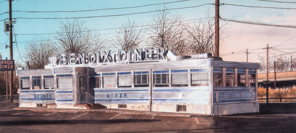 Bendix Diner - John Baeder