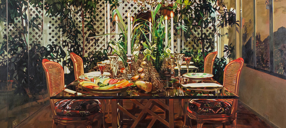 Dining Room with Arbor - Jack Mendenhall