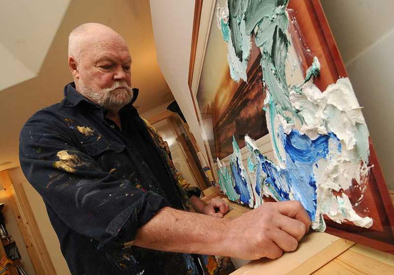 George Green in studio