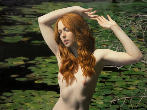 Untitled; Erna in the Water