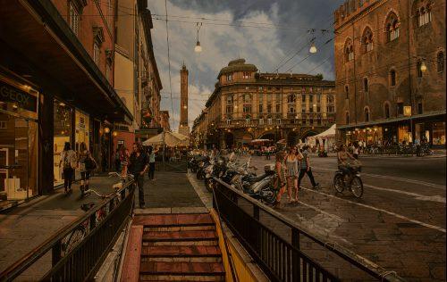 Bologna at Dusk